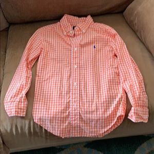 Boys button down Ralph Lauren shirt